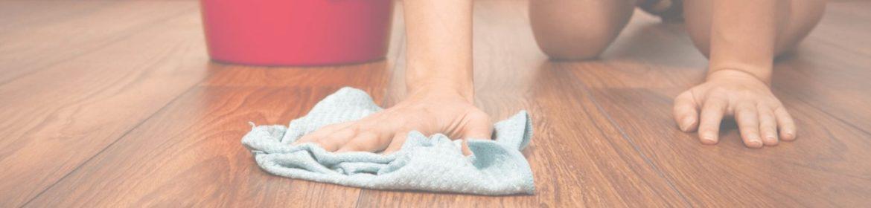 как убрать пятно с ламината