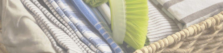 как постирать кухонные полотенца от жирных пятен