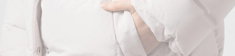 как стирать белый пуховик своими руками