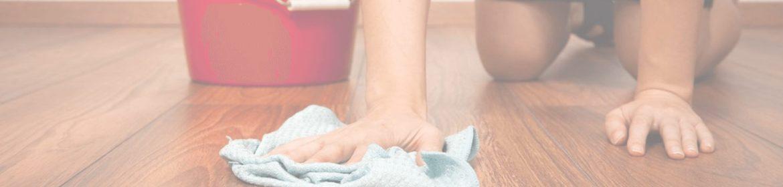 мытье полов в доме