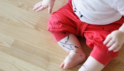Чем отстирать маркер с одежды
