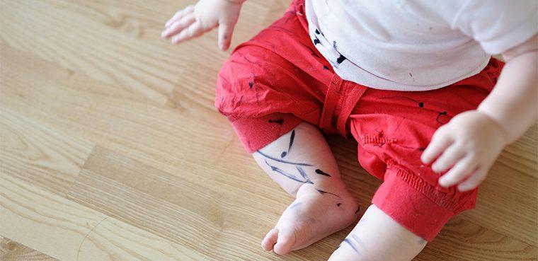 как отстирать маркер с одежды