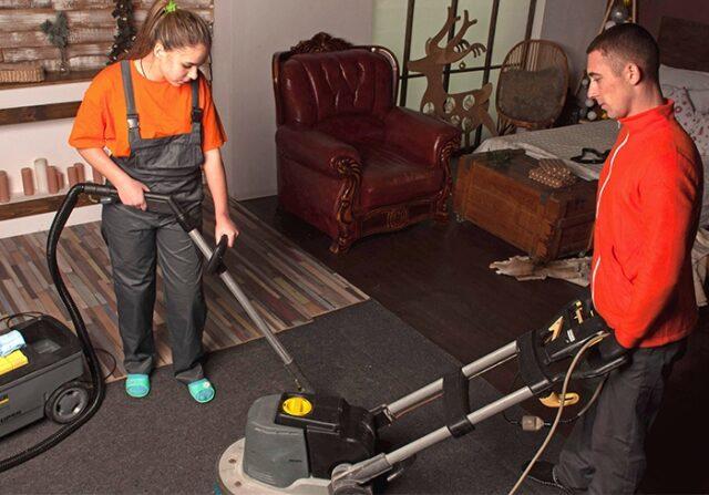 Генеральная уборка дома клининговой компанией Уборка 24