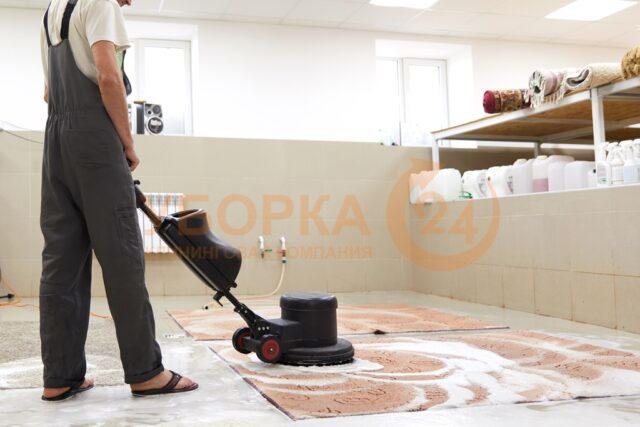 Профессиональная химчистка ковров в цеху - с вывозом и доставкой ковра клиенту домой