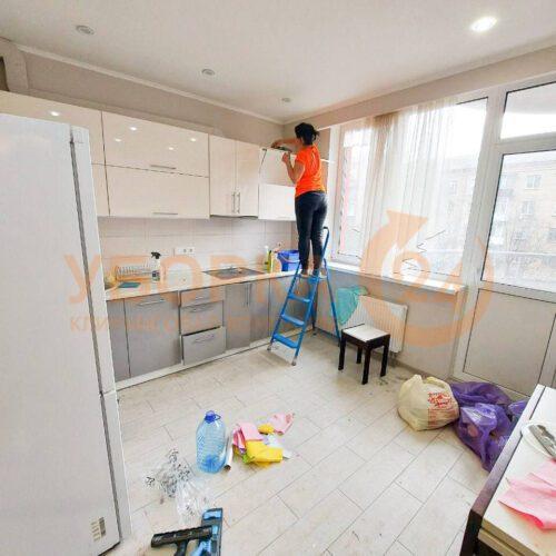 Недорогая уборка квартиры в Киеве клининговой компанией Уборка 24