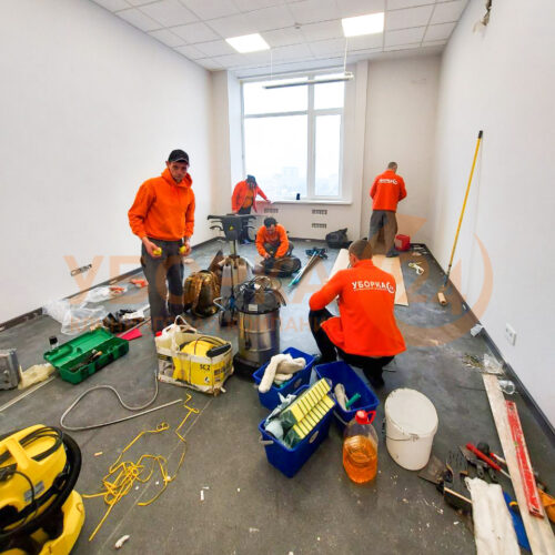 Генеральная уборка квартиры после ремонта в Киеве